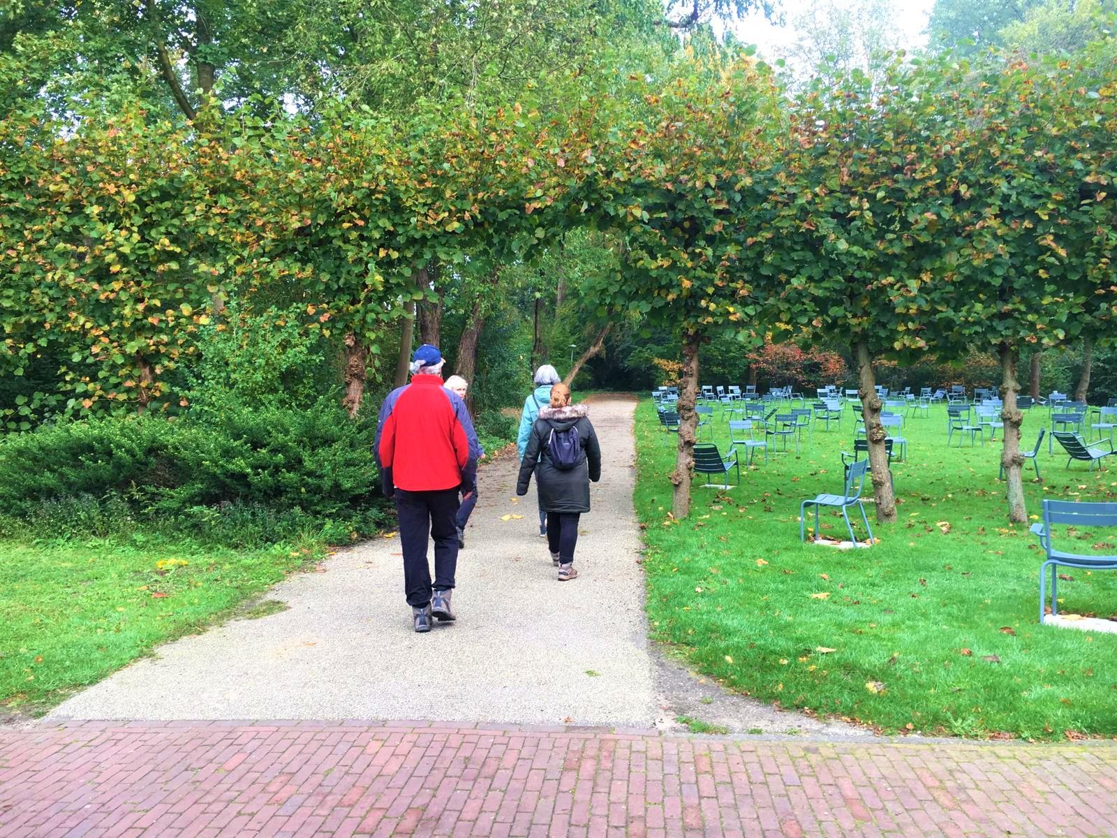 Een heerlijke Mindful wandeling in het Amstelpark, MindWalker